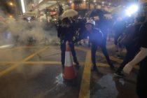 Detienen en Hong Kong al líder de un partido independentista en una nueva jornada de protestas