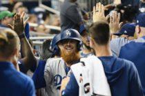 LA Dodgers vapulearon a los Marlins por 15-1 en Miami