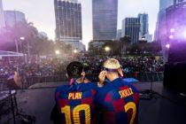 Fanáticos del FC Barcelona en Florida pudieron disfrutar del Barca Fest Miami en Bayfront Park
