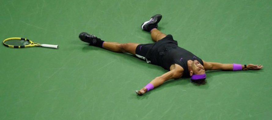 Rafael Nadal venció en un espectacular partido a Daniil Medvedev y se quedó con el US Open 2019