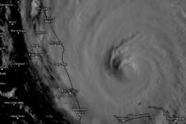 Pronóstico de Dorian a lo largo de la costa de Florida
