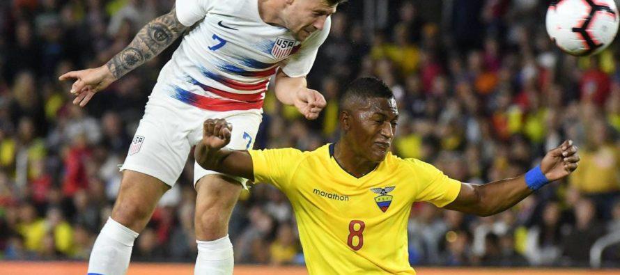 Selección de Estados Unidos celebró tercer triunfo consecutivo del año