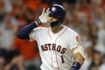 Carlos Correa empató la serie de la SCLA entre Astros y Yankees con un batazo en la entrada 11