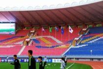 Las dos Coreas se enfrentaron y empataron en un estadio vacío (foto)