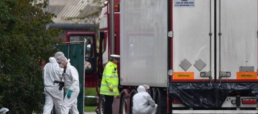Confirman que los 39 muertos encontrados cerca de Londres eran de nacionalidad china