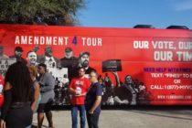 John Legend visita Miami en apoyo a la enmienda que restaura los derechos de voto de los ex delincuentes