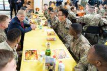 Trump pasó Thanksgiving con tropas norteamericanas en Afganistán en visita relámpago