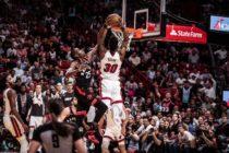 ¡Sigue en puestos de Playoffs! Heat de Miami venció 84-76 a los Raptors +Vídeo