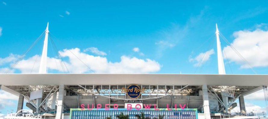 Un 'ejército' de seis mil personas ultima detalles en el Hard Rock Stadium para el Super Bowl