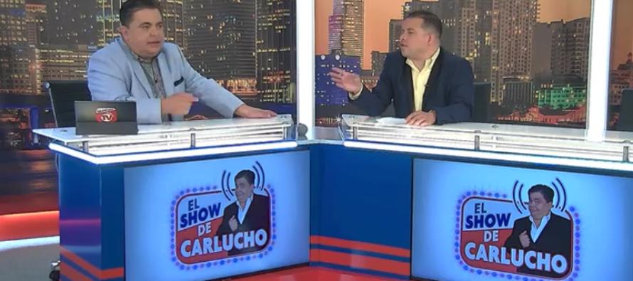 ¿Se lo perdió? ¡Esto fue lo que sucedió ayer en el show de Carlucho en Univista TV!
