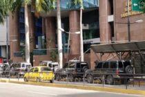 Funcionarios del régimen venezolano intentan allanar despacho de Guaidó en Caracas