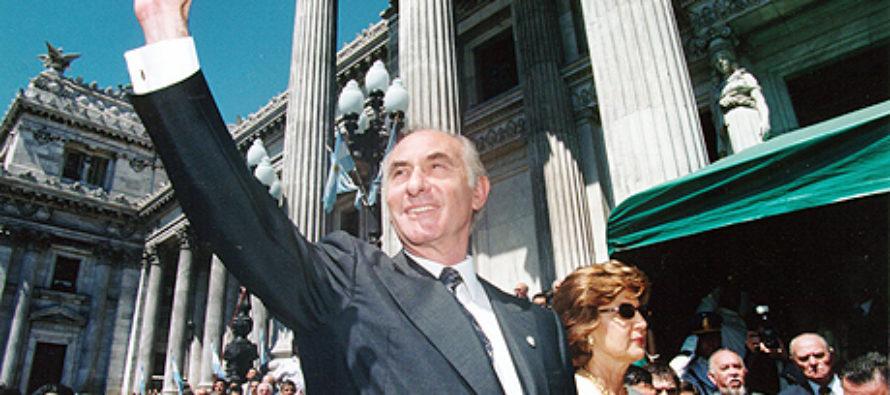 Fallece a los 81 años Fernando de la Rúa, expresidente argentino