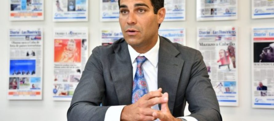 Alcalde de Miami, Francis Suárez,  se aboca en contra de la discriminación y el racismo