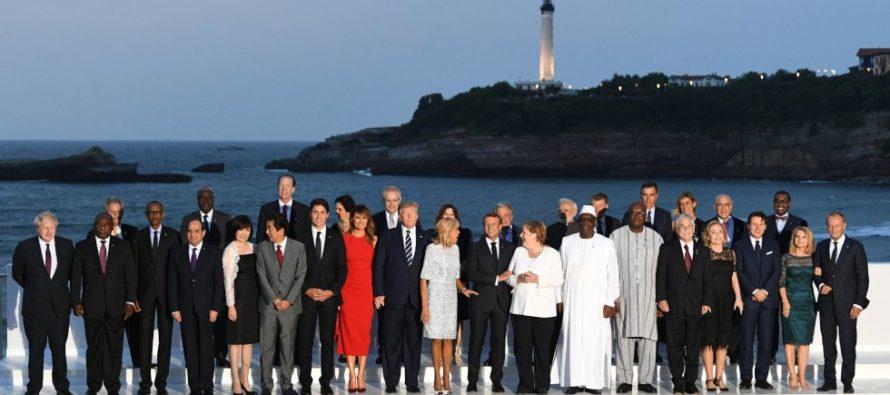 En imágenes: Momentos imperdibles del G7 en Francia