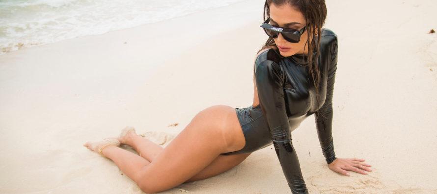 ¡Hermosa! Diana Gaviria enamora con sus curvas al público en Miami (+Fotos)