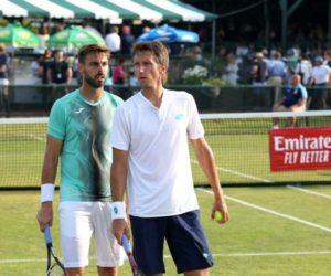 Marcel Granollers se coronó campeón del dobles en Newport