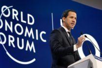 Guaidó recalcó en Davos que luchará por la segunda democracia de Venezuela