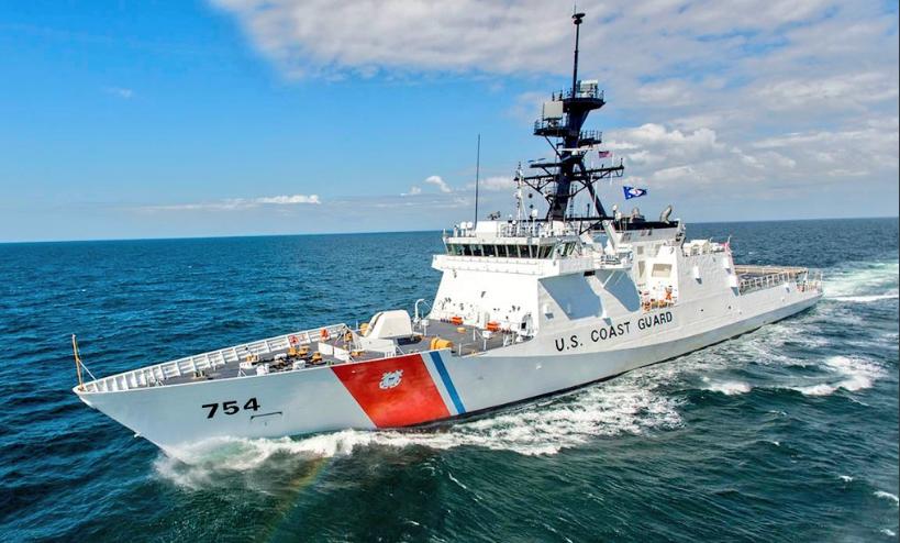¿Invadió un buque guardacostas de EE.UU. aguas venezolanas?