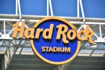 El logo del Hard Rock Stadium cambia de imagen