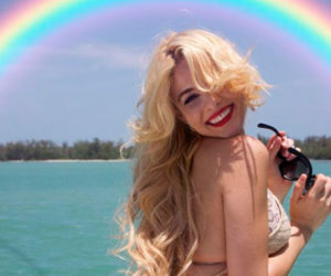 Haniset Rodríguez disfrutó de Miami Beach y realizó sensual sesión fotográfica