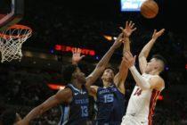 Heat arrancó la temporada a toda máquina ante Grizzlies en Miami