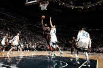 Heat sufrieron su primera caída de la temporada ante Wolves