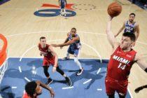 Heat le quitó invicto a Sixers con infartante victoria en Filadelfia