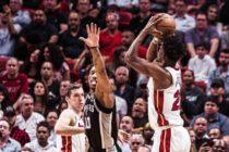Heat mantiene su buen paso en Miami ante Spurs (Video)