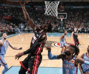 Heat extendió su racha ganadora en casa del Thunder