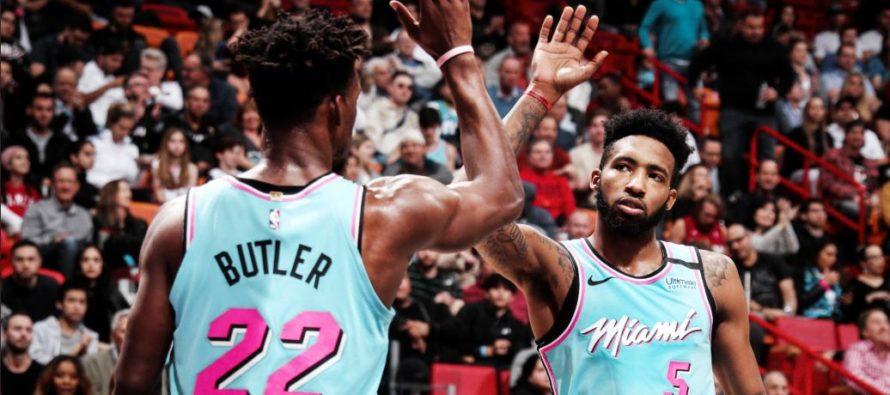 Heat sacó la casta al final para vencer a Mavericks en Miami