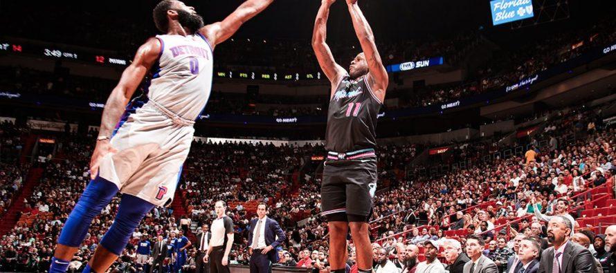 Heat cayeron por quinta vez seguida en casa ante Pistons