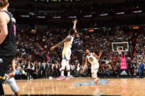 Milagroso triple de Wade dio sorpresivo triunfo al Heat sobre favoritos Warriors