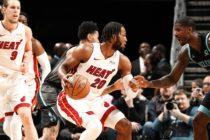 Heat regresó a la zona clasificatoria tras lauro ante Hornets