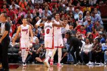 Heat le dio una verdadera paliza en casa a Pistons