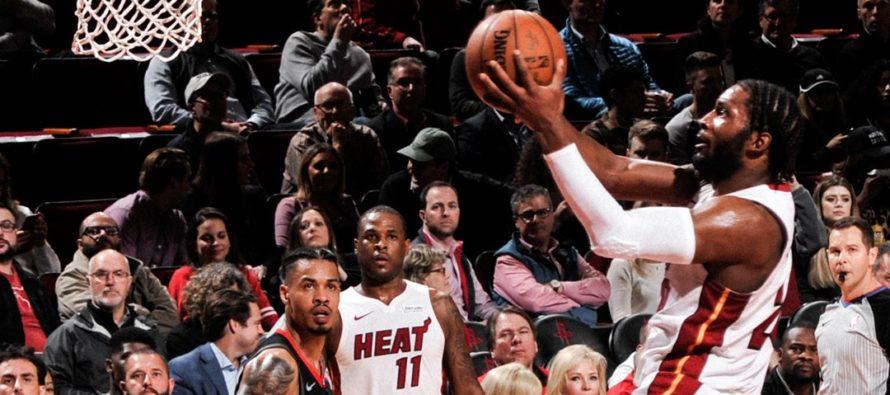 Heat no pudieron cerrar el partido y cayeron ante Rockets