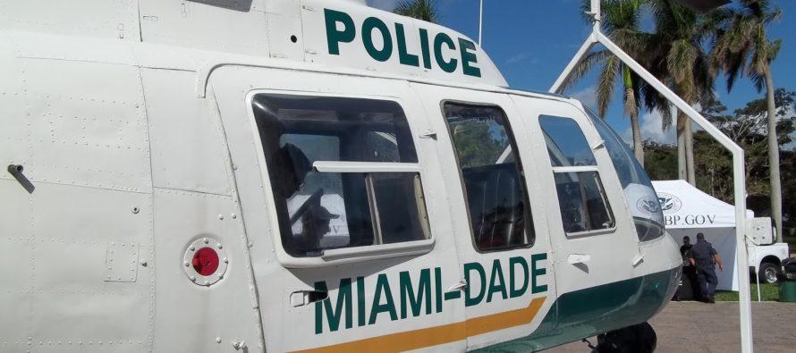 Trasladan en aeronave a bombero de Miami-Dade luego de lesionarse