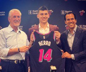 Fanáticos del Heat no están contentos con elección de Tyler Herro en el Draft 2019