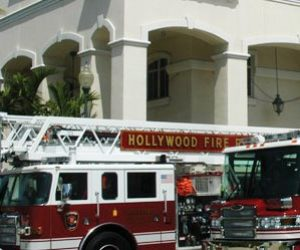 Bomberos de Hollywood organizaron campaña de donación para víctimas de Dorian en Bahamas
