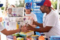 Embajador Vecchio lideró recolección de ayuda humanitaria para niños venezolanos