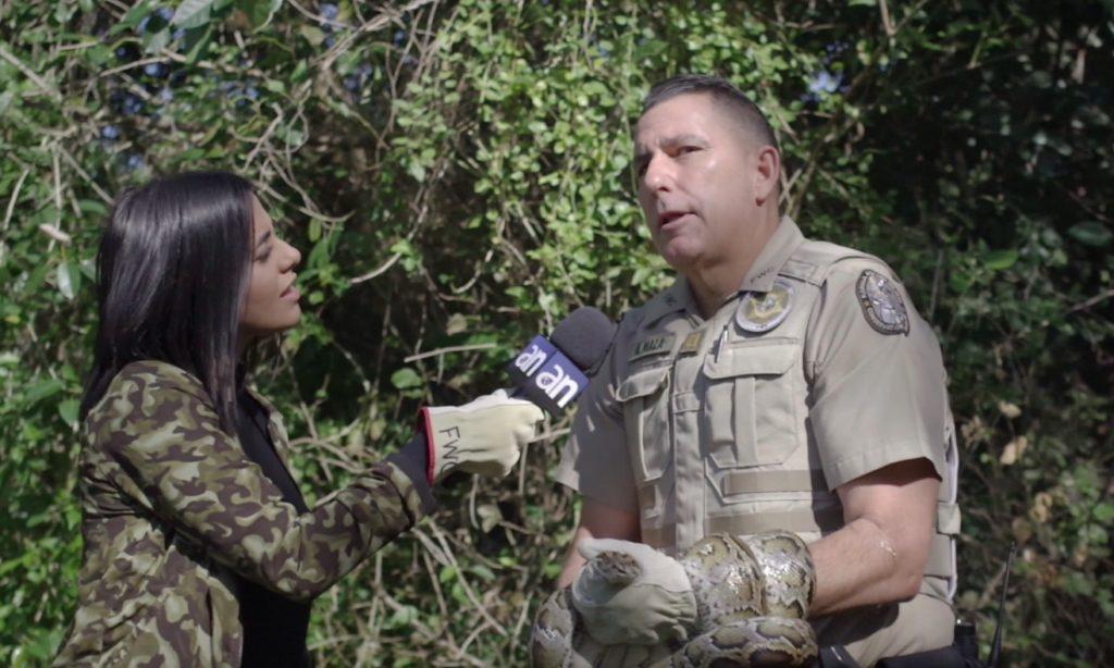 """""""SOS: Invasoras del pantano"""""""