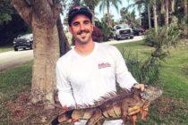 ¿Problemas con las iguanas? Bombero presta servicios para su eliminación en el Sur de Florida