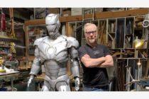 Adam Savage construye un impresionante traje de Iron Man que puede volar (Video)