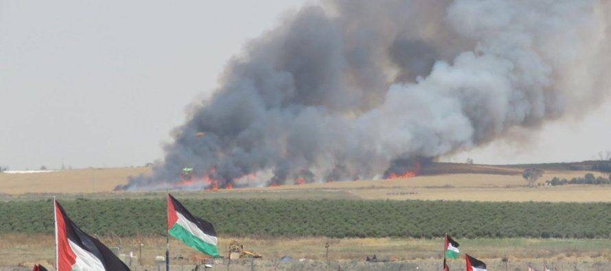 Grupo terrorista Hamas intentó derribar un helicóptero del ejército israelí