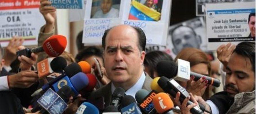 Julio Borges es nombrado representante de Venezuela en el exterior por Guaidó