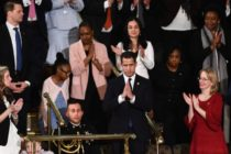 Congreso de EEUU ovacionó a Guaidó durante discurso del Estado de la Nación de Trump (+Video)
