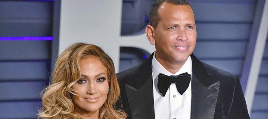 Jennifer López y Alex Rodríguez ya se dieron el sí con flamante anillo
