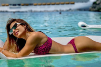 Jesica Cirio extraña el calor de Miami