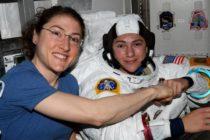 ¡Haciendo historia! Cristina Koch y Jessica Meir primeras en realizar caminata espacial sólo por mujeres (Video)