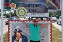 Terminó en los Cayos: Mujer caminó 2.550 millas para crear conciencia sobre consumo de opiodes