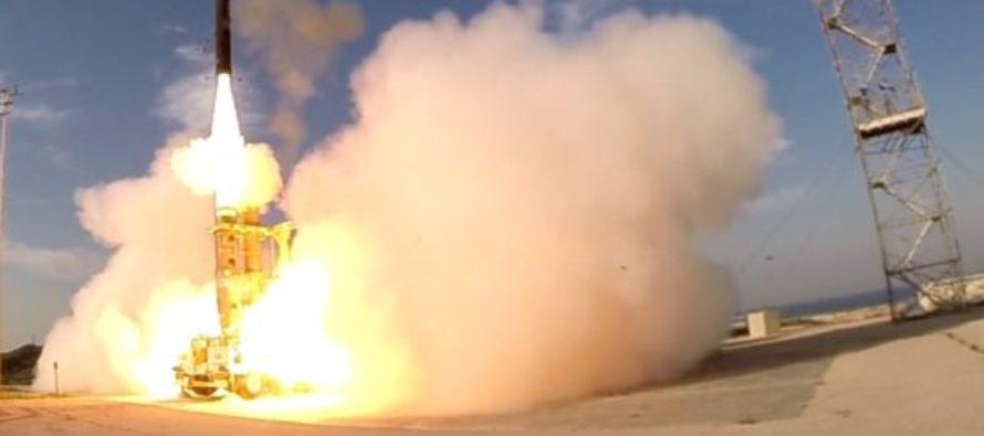 Israel muestra al mundo su sistema antimisiles Jetz 3 (Video)